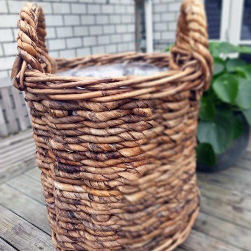 Bloemenmand Basket cilinder D35H35