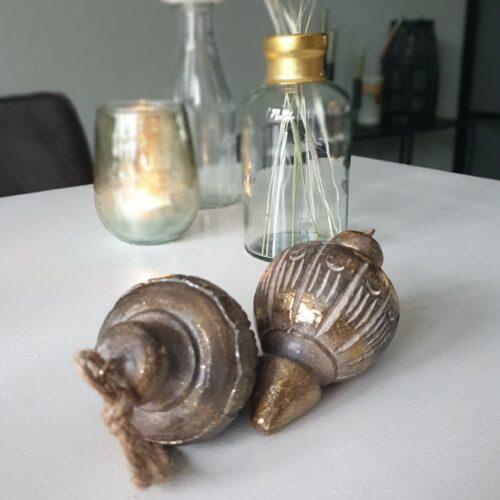Ornament 12,5 cm gold